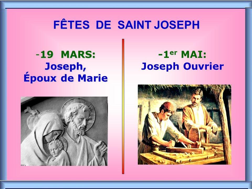 .. Les deux « FIAT » Le FIAT de JOSEPH il a dit OUI à la venue de Dieu dans sa maison Le FIAT de MARIE elle a dit OUI devant le mystère de Dieu