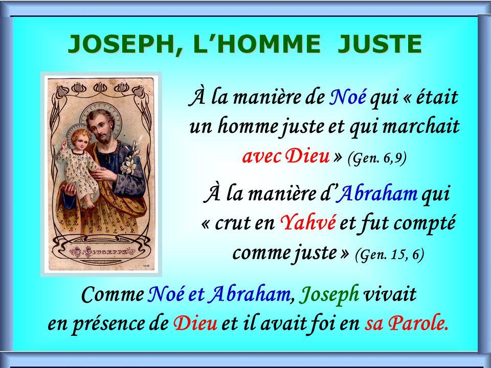 .. 3 ième songe Mt, 1, 23 Retour de lÉgypte Joseph a été LAmi fidèle de Jésus et Marie durant la route LAmi fidèle de Jésus et Marie durant la route L