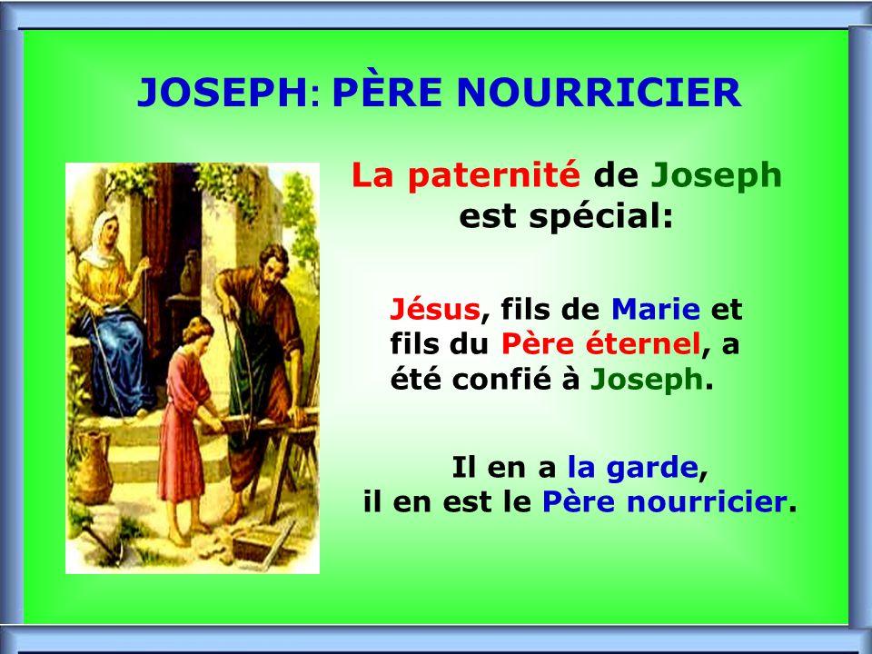 ..Joseph charpentier «Celui-là nest-il pas le charpentier, le Fils de Marie .