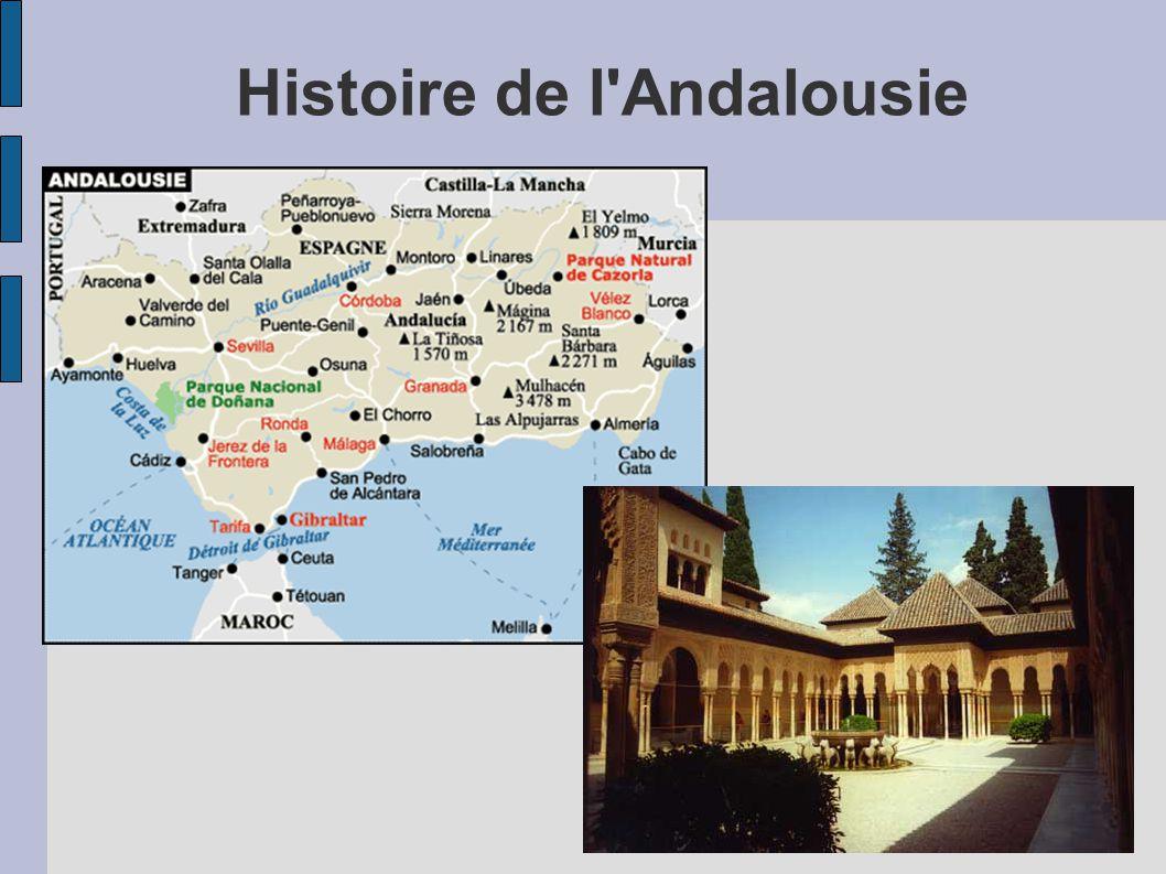 Histoire de l Andalousie