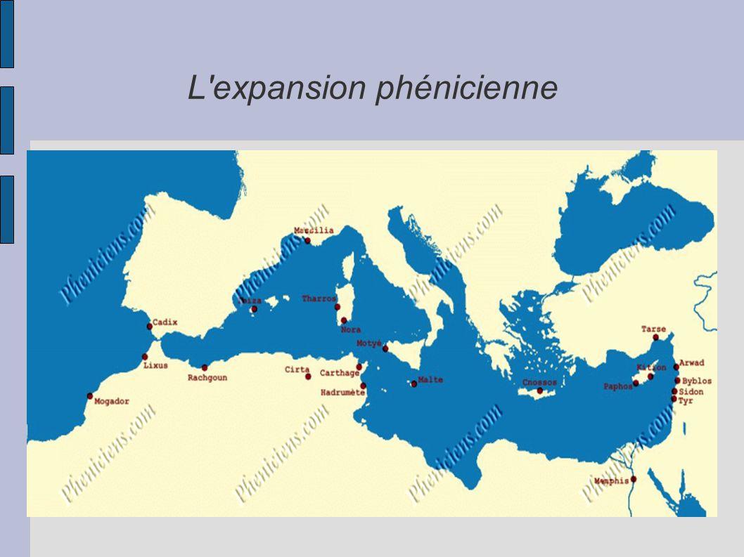 L expansion phénicienne