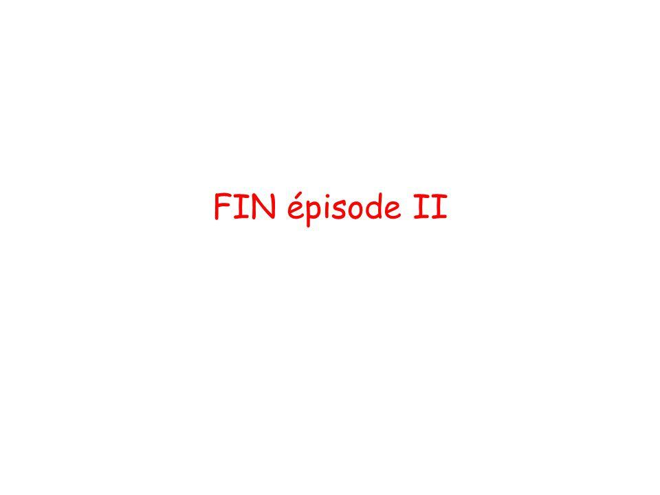 FIN épisode II