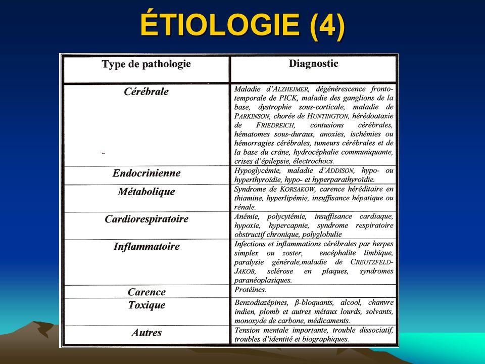 ÉTIOLOGIE (4)