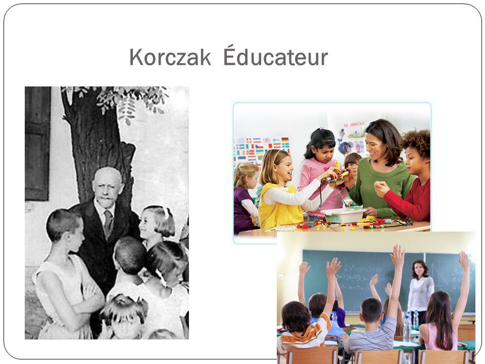 Korczak Éducateur