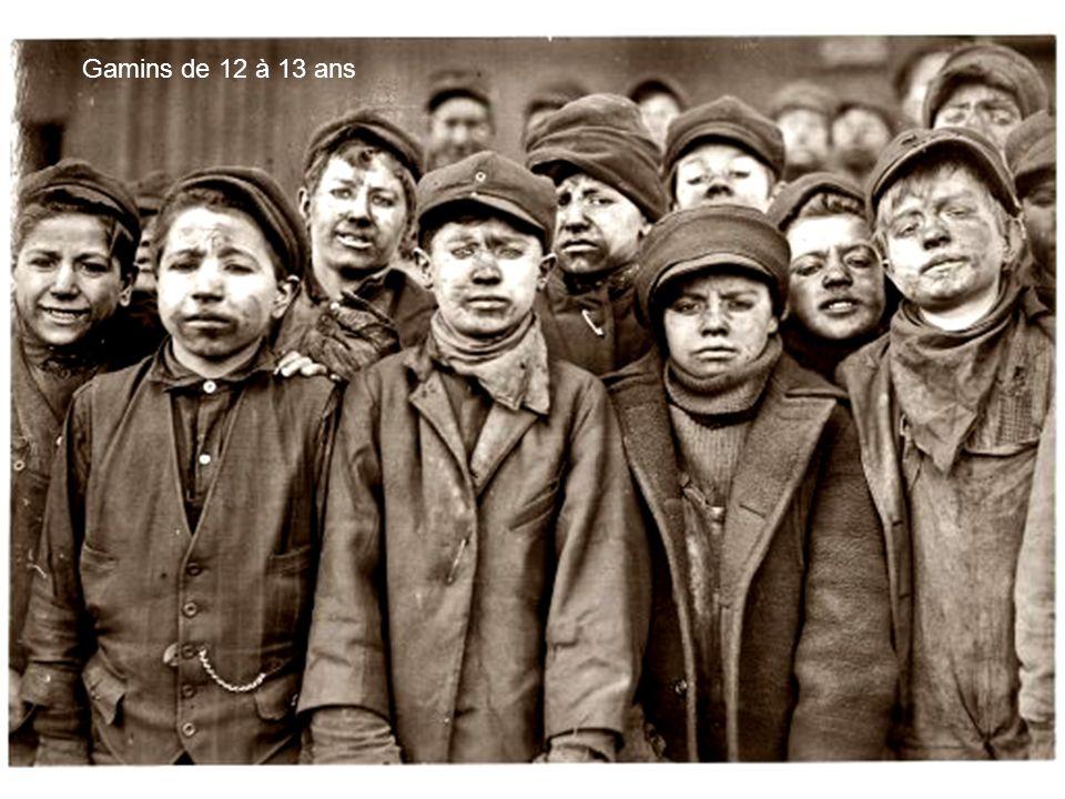 Enfants trieurs de charbon de Pennsylvanie en 1911