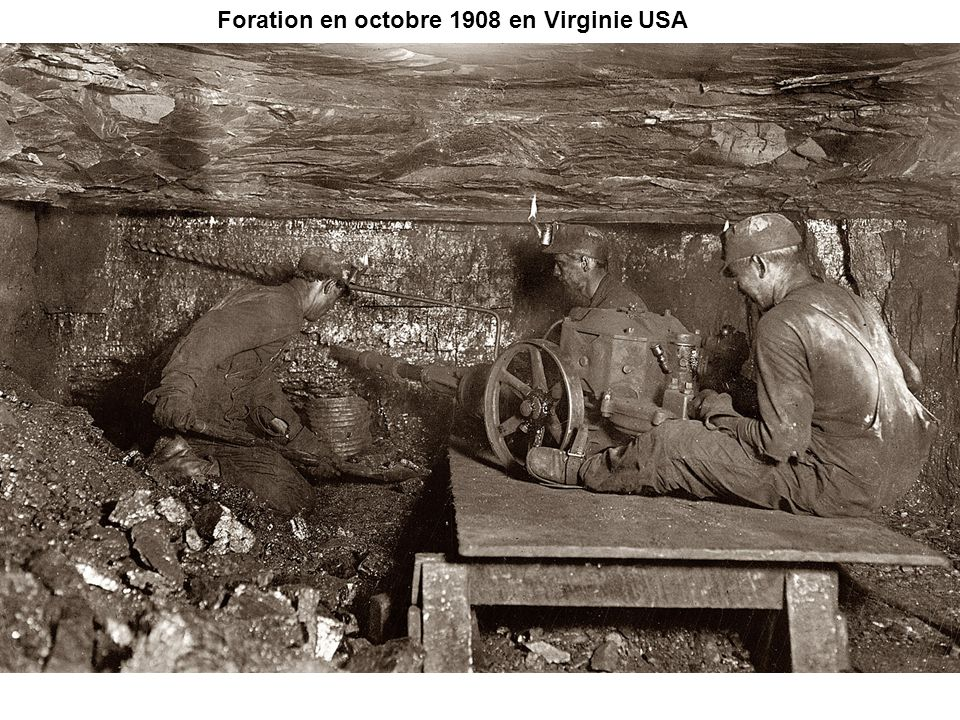 Foration en octobre 1908 en Virginie USA