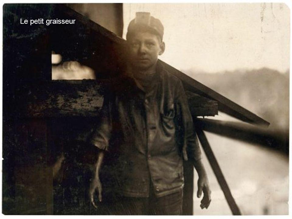 Jeune graisseur à la mine Dora Jefferson en Alabama en1910