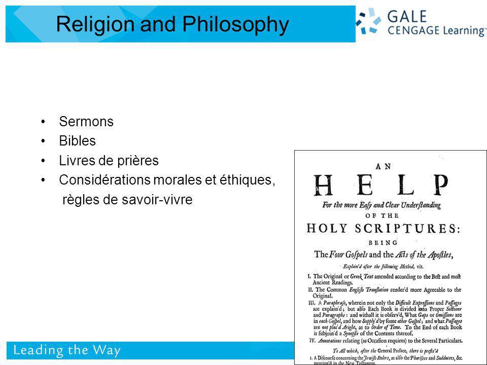 Sermons Bibles Livres de prières Considérations morales et éthiques, règles de savoir-vivre Religion and Philosophy