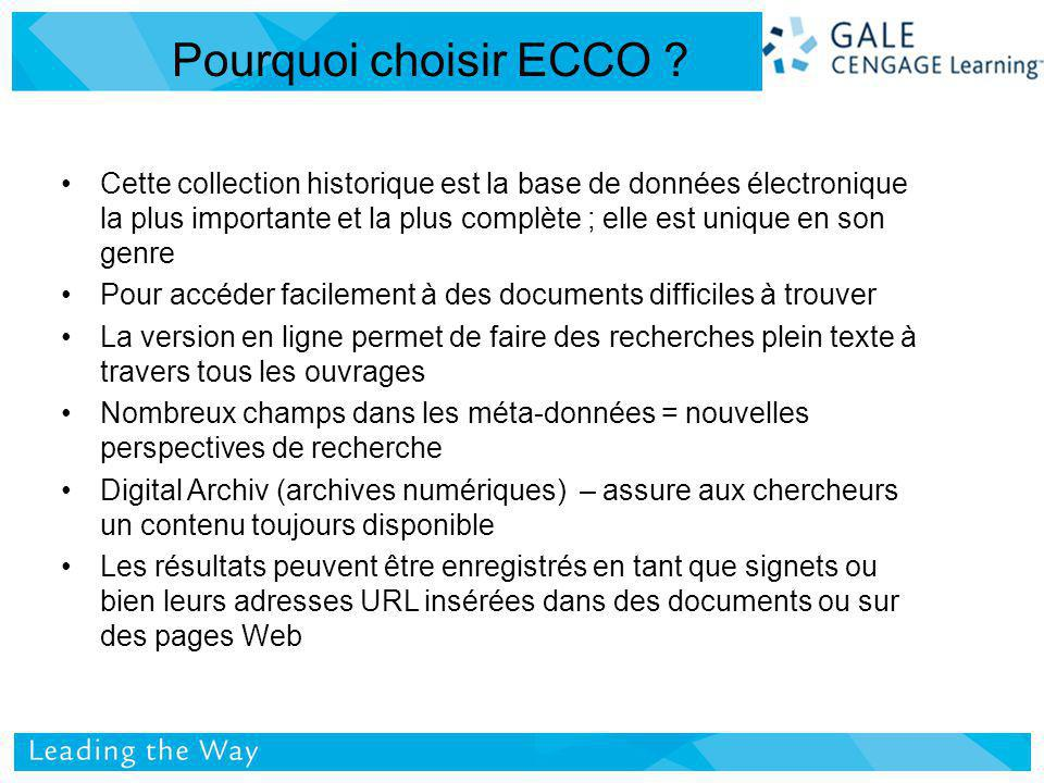 Fullt Text Recherches dans ECCO