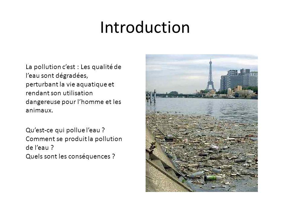 La pollution du sol peut être diffuse ou locale, d origine industrielle, agricole (utilisation excessive d engrais, de pesticides, etc.