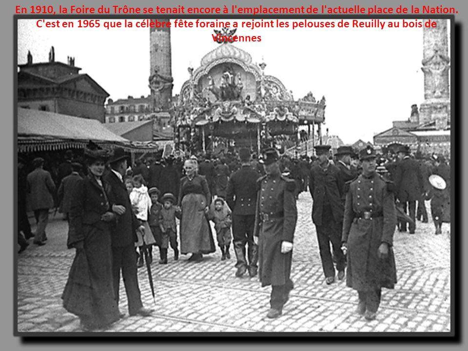 Un marché en1913 à Marseille
