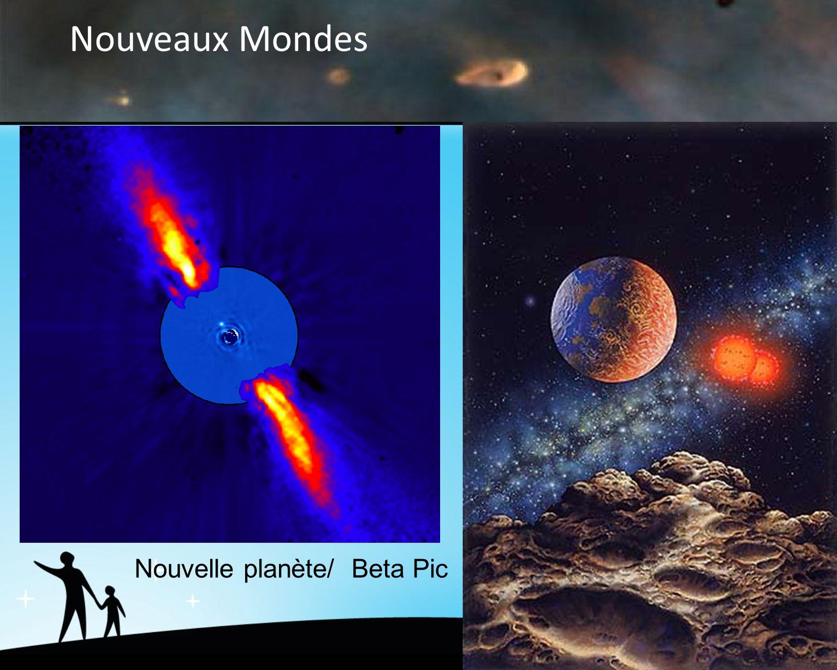 Nouveaux Mondes Nouvelle planète/ Beta Pic