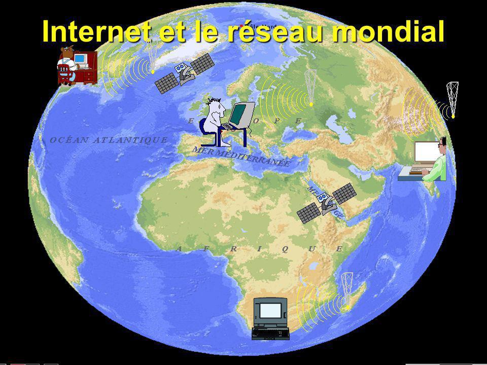 Le réseau Internet Première partie partie : F les interconnexions du réseau mondial Fla structure du réseau national et régional Fla structure du rése
