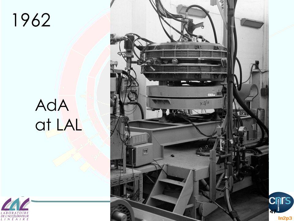 47 1962 AdA at LAL