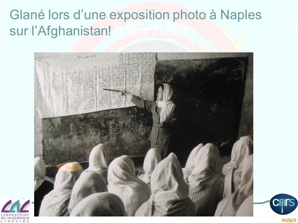 Glané lors dune exposition photo à Naples sur lAfghanistan! (Mars 2005)