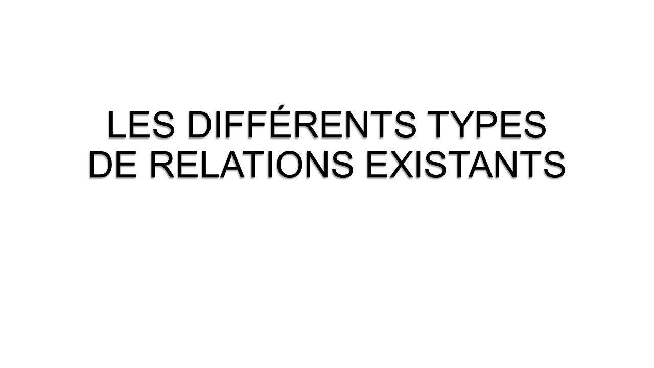 Relations avec les usagers Relations hiérarchiques ORGANISATION Relations externes (Durables ou temporaires ) Relations internes Relations fonctionnelles