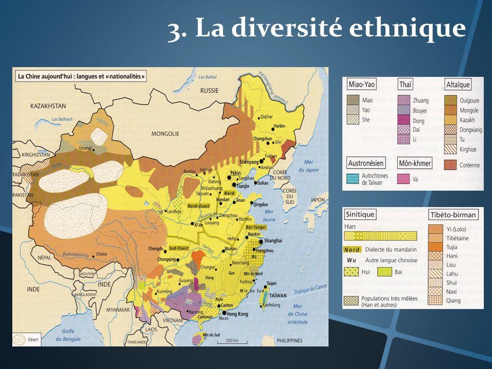 3. La diversité ethnique