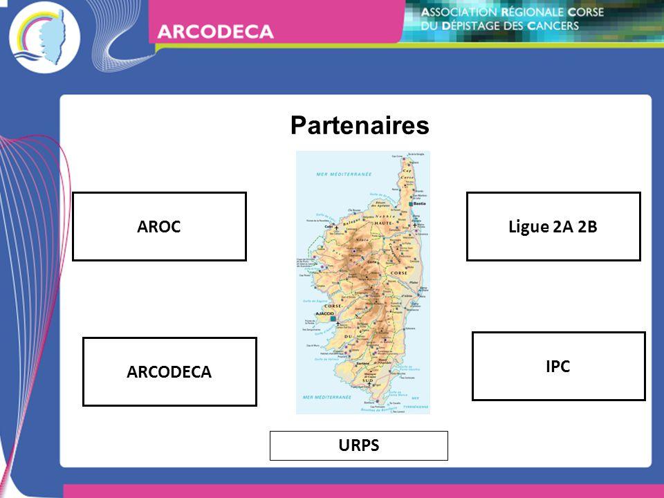 Partenaires AROC ARCODECA Ligue 2A 2B IPC URPS