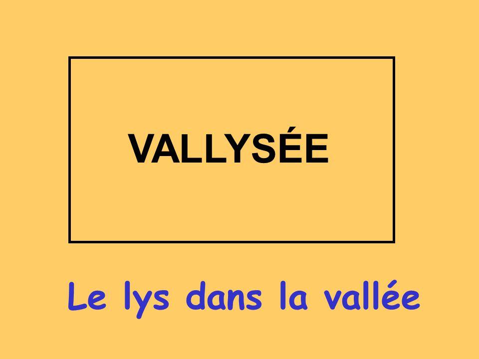 Le lys dans la vallée VALLYSÉE