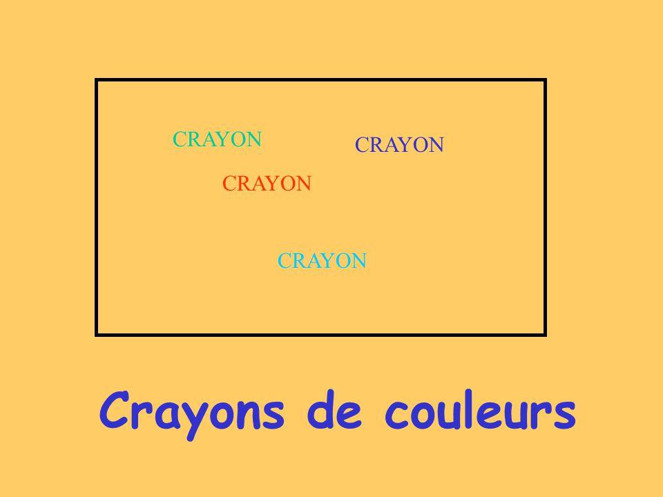Crayons de couleurs CRAYON