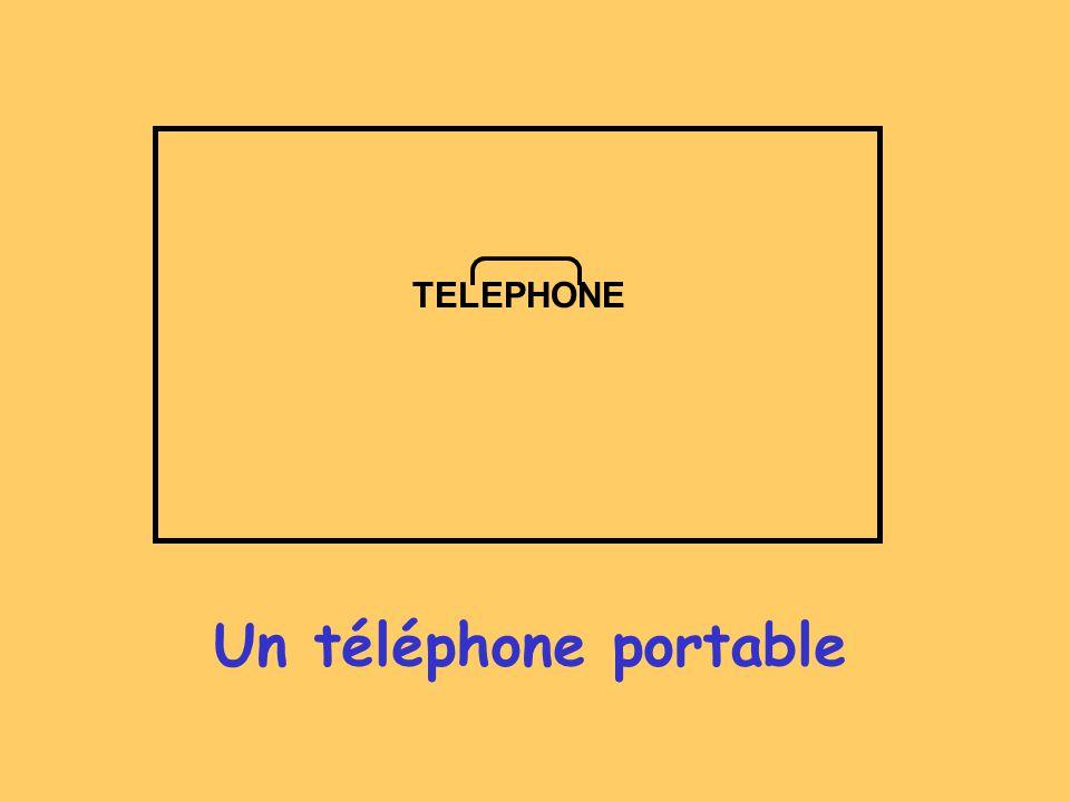 Un téléphone portable TELEPHONE