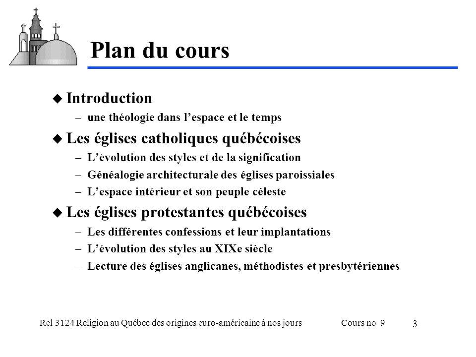 Rel 3124 Religion au Québec des origines euro-américaine à nos joursCours no 9 14 Église méthodiste Chapel de Trenholm T.