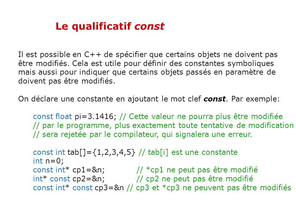 Le types bool Le C++ contient un type bool servant à représenter le résultat des opérations logiques. Une variable de type bool ne peut prendre que de
