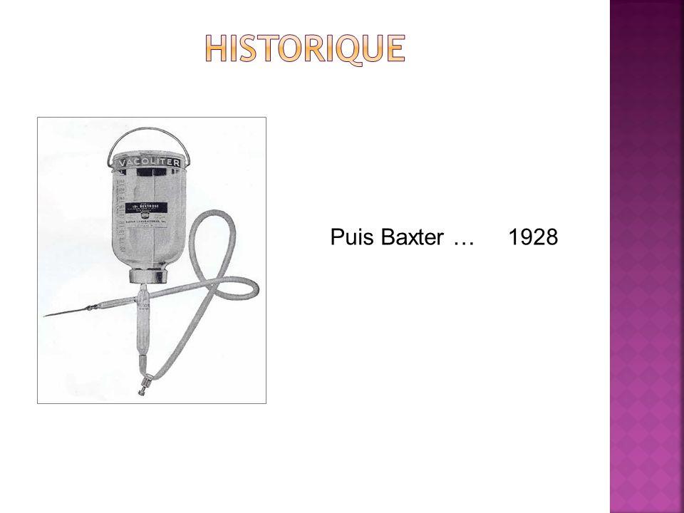 Puis Baxter … 1928