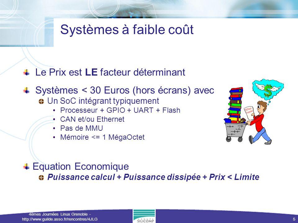 4èmes Journées Linux Grenoble - http://www.guilde.asso.fr/rencontres/4JLG 6 Linux Hors Jeu .