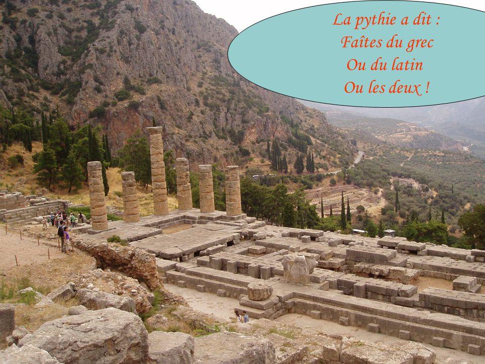 Dominique Augé, lycée Vaugelas, Chambéry 9 Langues anciennes au lycée Vaugelas .