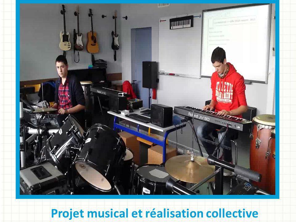 Projet musical et réalisation collective