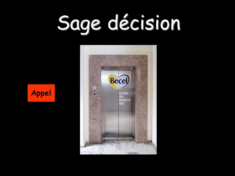 Sage décision Appel
