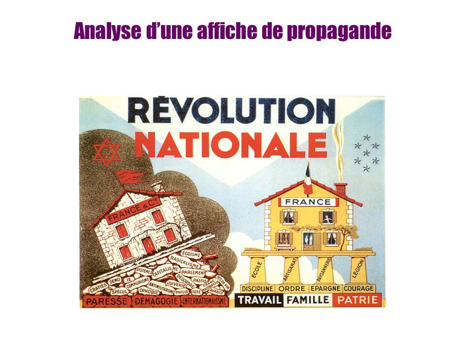 Analyse dune affiche de propagande