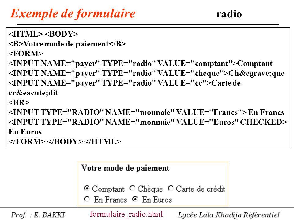 Exemple de formulaire option Marseille Paris Lens Lille formulaire_choix.html