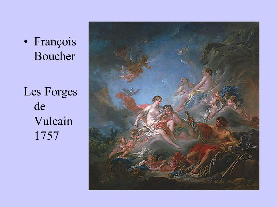 François Boucher Les Forges de Vulcain 1757