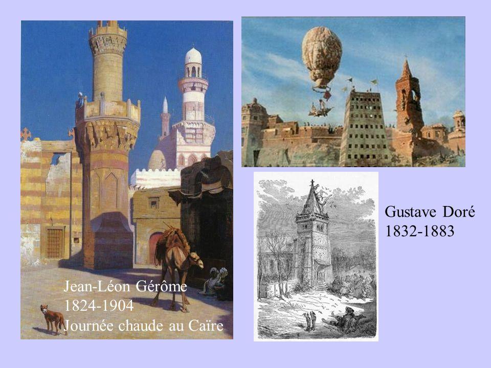 Jean-Léon Gérôme 1824-1904 Journée chaude au Caïre Gustave Doré 1832-1883