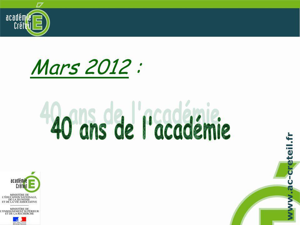 Mars 2012 :