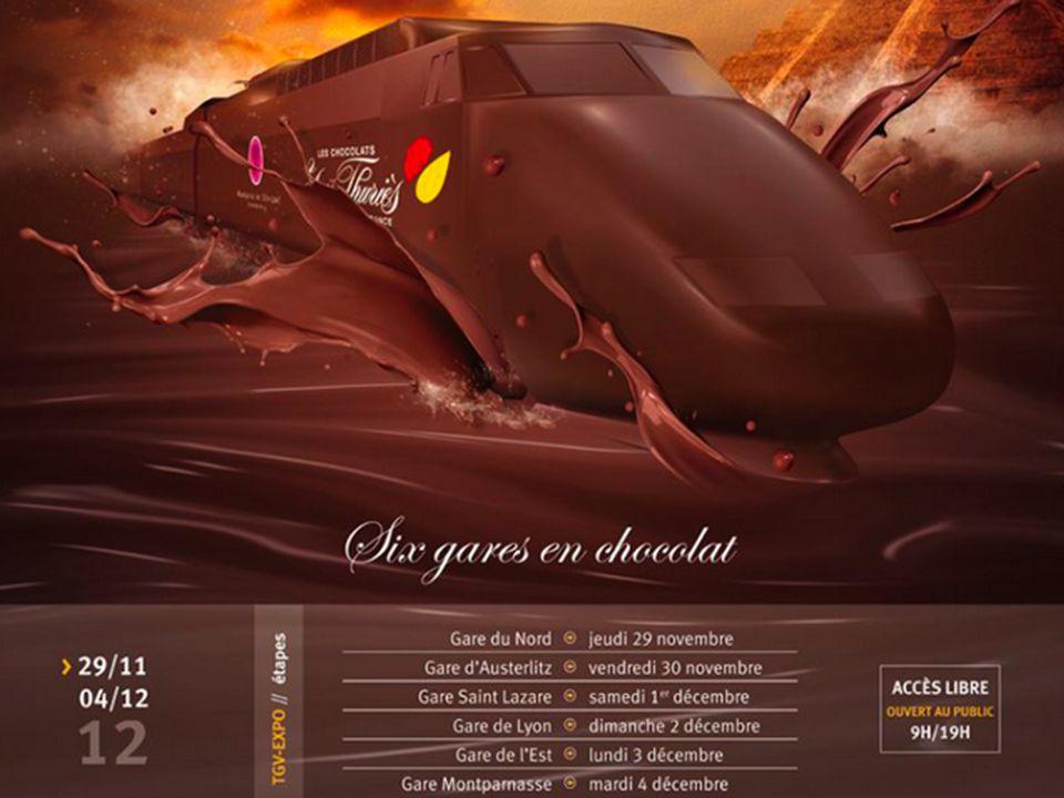 Pas de bruit, il est aussi en chocolat.