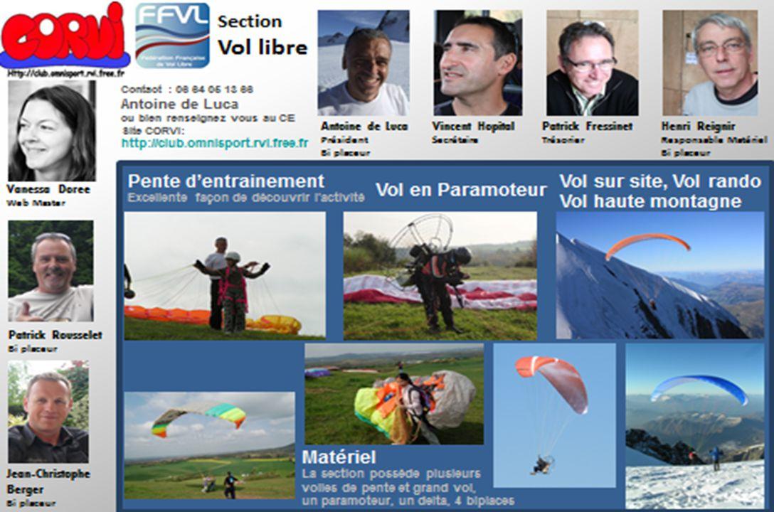 CORVI Vol Libre – Assemblée générale 2013 26-11-2013
