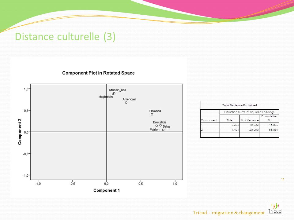 12 Distance culturelle (3) Tricud – migration & changement