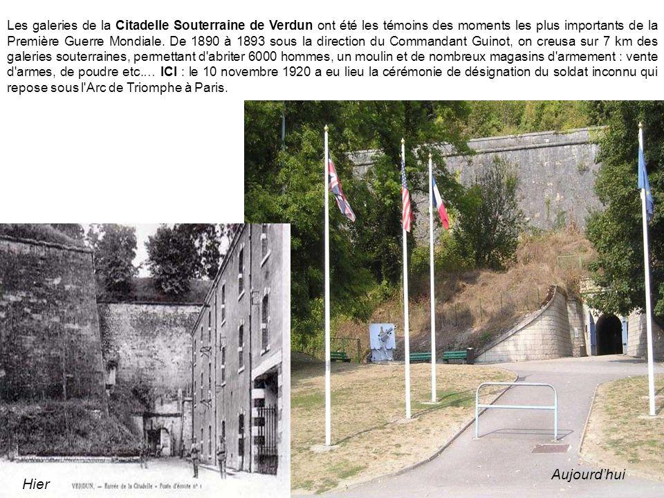 En plein centre ville de Verdun, domine le Monument à la Victoire et aux soldats de Verdun .