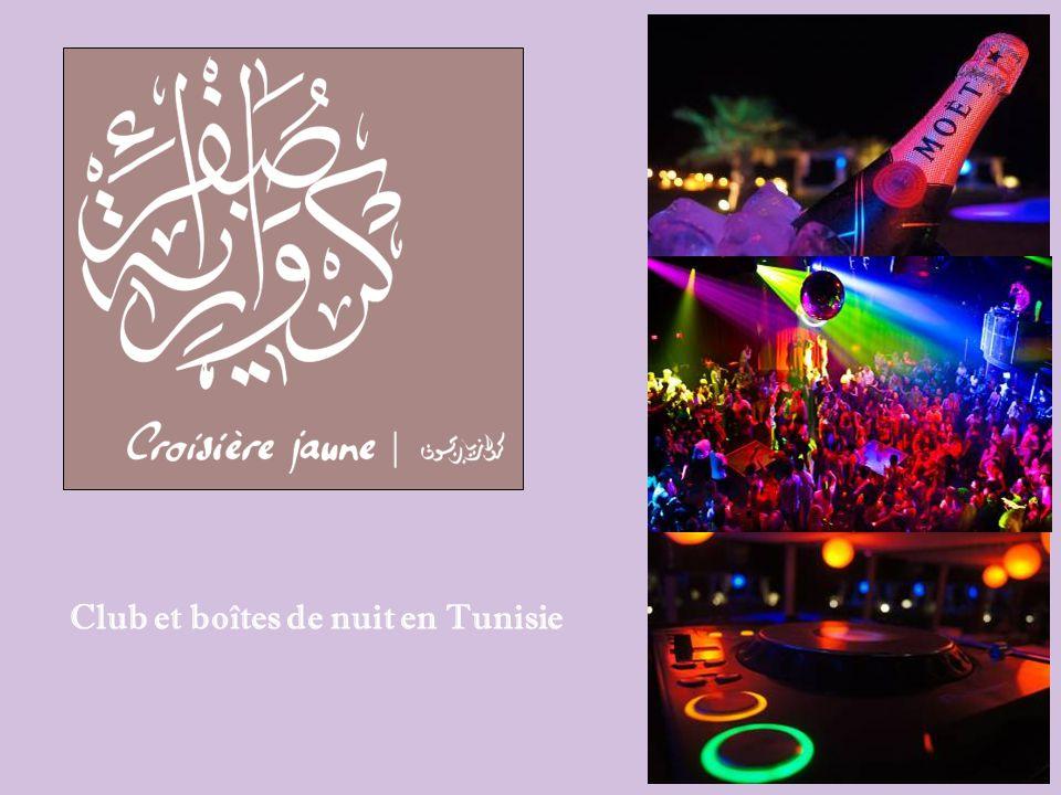 Club et boîtes de nuit en Tunisie