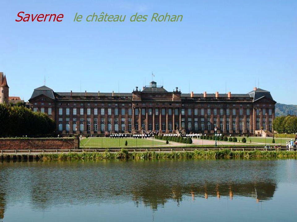 Saverne château du Haut-Barr