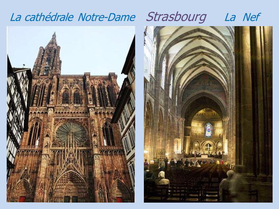 Strasbourg cathédrale Notre-Dame