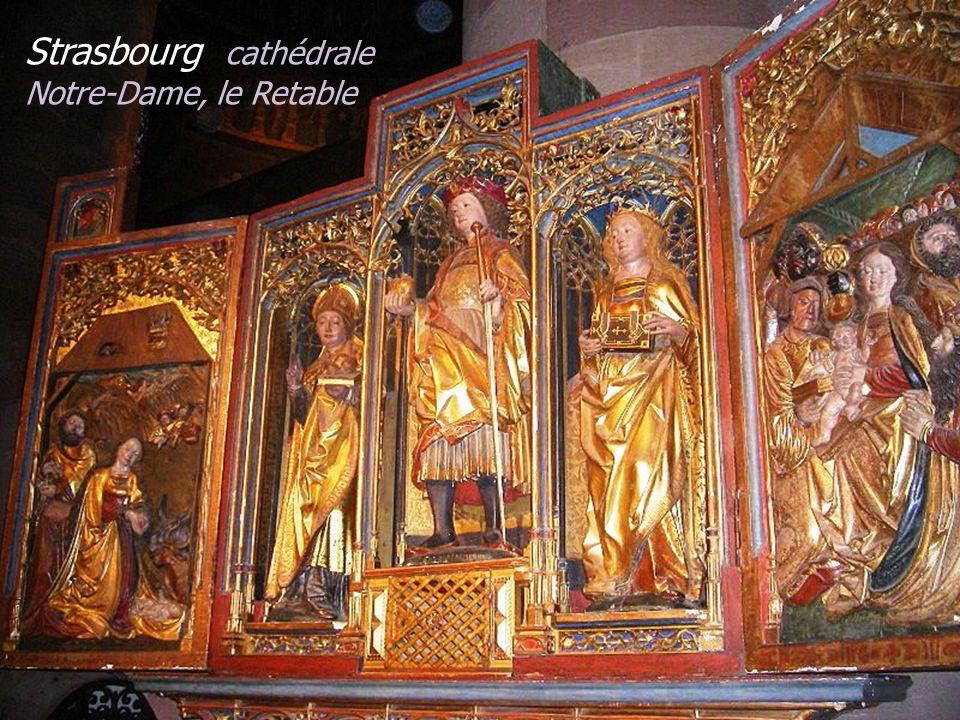 La cathédrale Notre-Dame Strasbourg La Nef