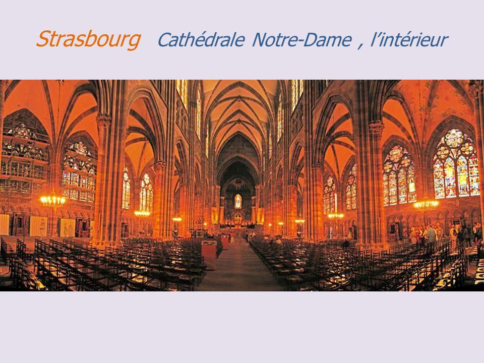 Strasbourg cathédrale Notre-Dame, le Retable