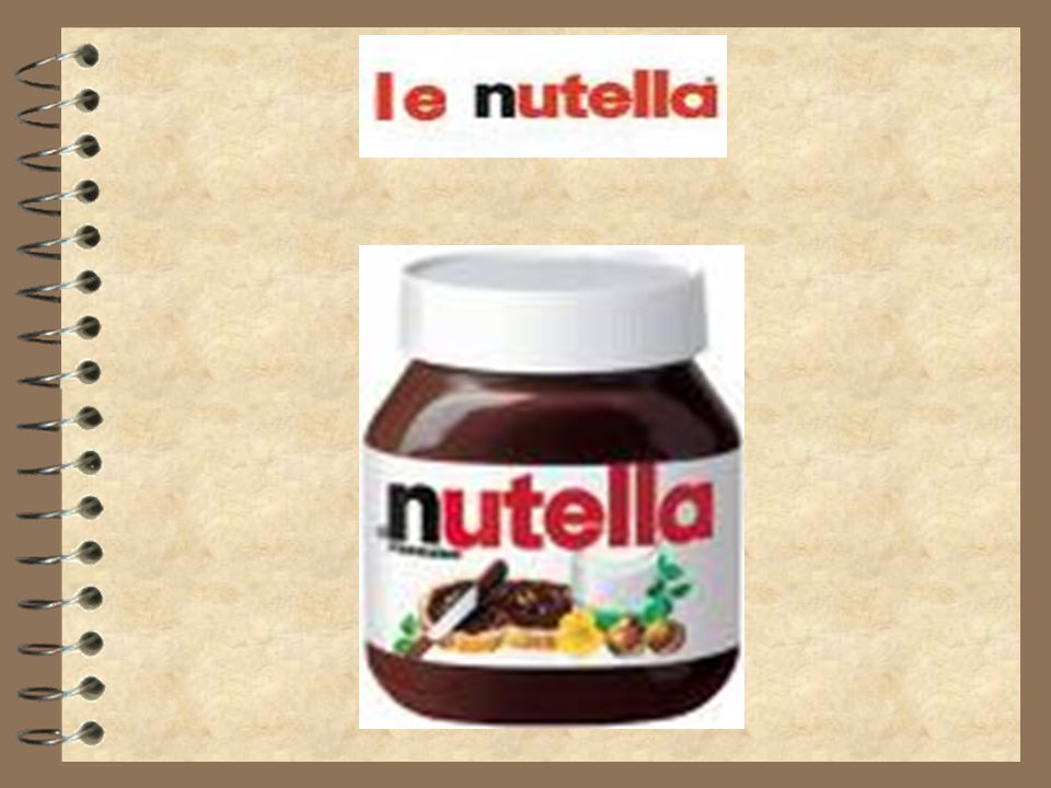 Sommaire.Qu est que cest que le nutella?. L histoire du nutella.