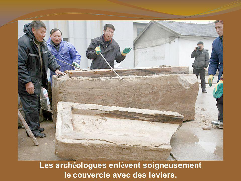 Le cercueil a é t é trouv é dans la Province de Jiangsu Taizhou en Chine.