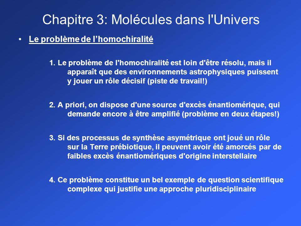 Le problème de lhomochiralité 1.