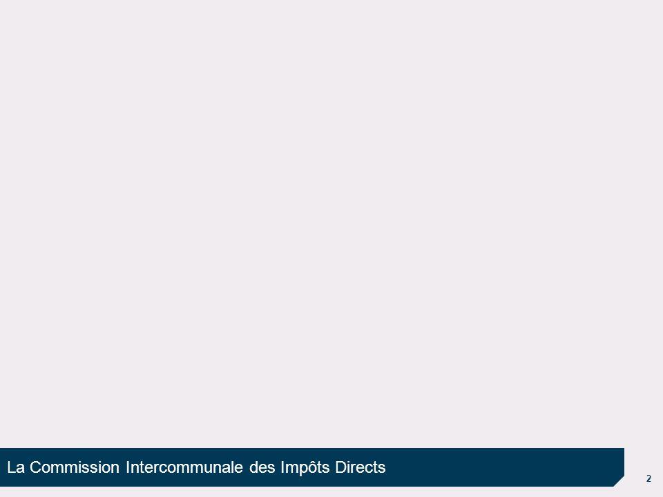 3 Présentation de la CIID Les établissements publics de coopération intercommunale soumis sur de plein droit ou sur option au régime de la fiscalité professionnelle unique doivent créer une commission intercommunale des impôts directs (CIID) (art.